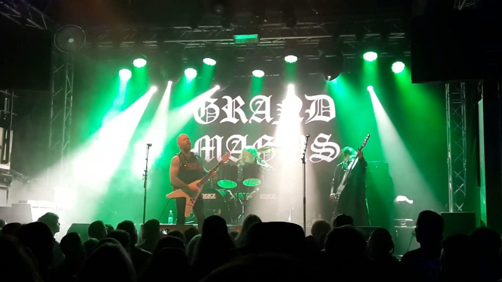 Grand Magus, live på Sticky Fingers i Göteborg