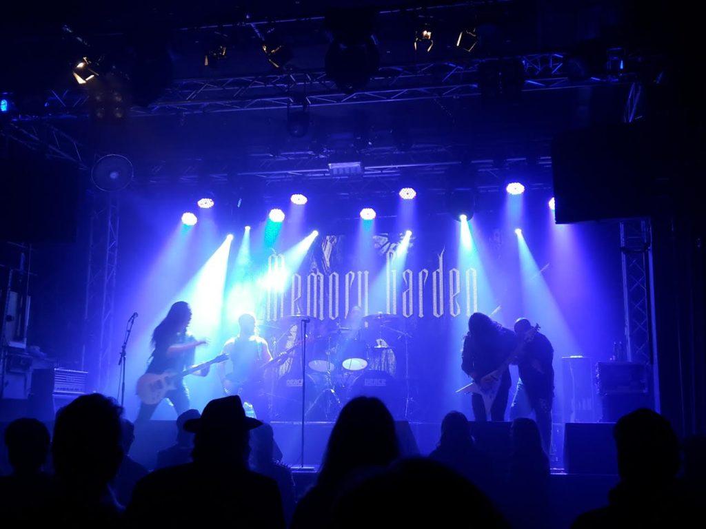 Memory Garden, live på Sticky Fingers i Göteborg